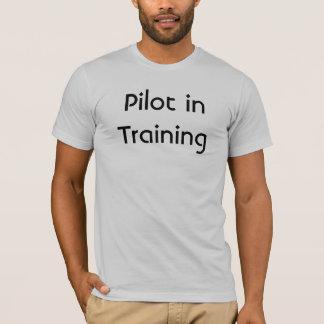 Camiseta Piloto no treinamento