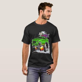 Camiseta Piloto quente do monstro (verde)