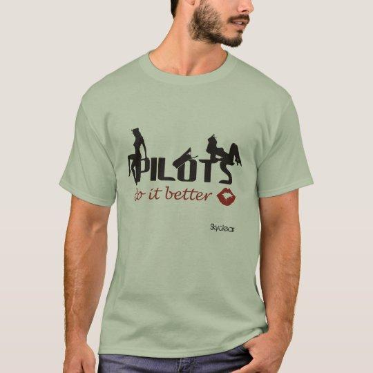 Camiseta Pilots do it better