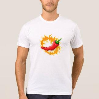 Camiseta Pimenta de pimentão com t-shirt da chama