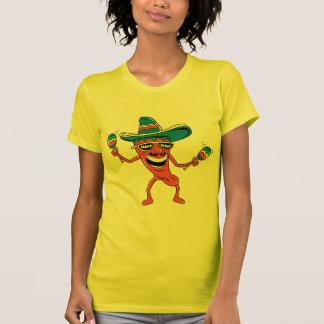 Camiseta Pimenta de pimentão mexicana