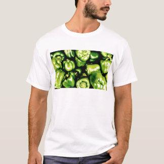 Camiseta Pimentas de Bell verdes