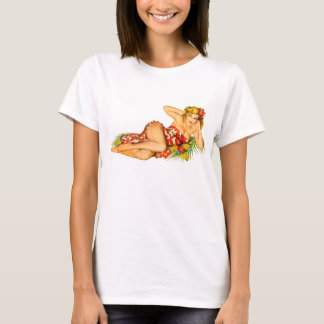 Camiseta Pin acima da menina