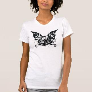 Camiseta Pin da borboleta acima
