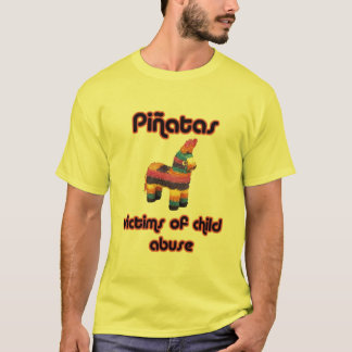 Camiseta Pinatas - vítimas do pederastia