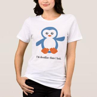 Camiseta Pinguim mortal