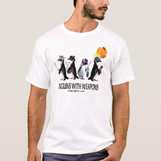 Camiseta pinguins com armas