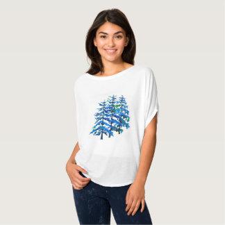 Camiseta Pinheiros azuis