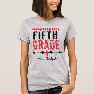 Camiseta Pinheiros e t-shirt quinto grau do professor das