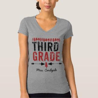 Camiseta Pinheiros e t-shirt terceiro grau do professor das