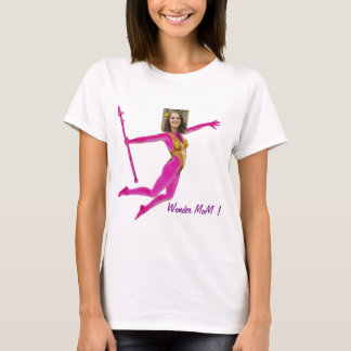 Camiseta Pink Fushia Wonder Woman, Fairy Wand -
