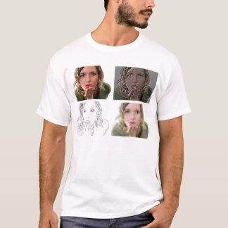 Camiseta Pinte-me - o t-shirt masculino branco