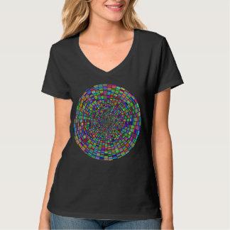 Camiseta Pinte o Vortex da paleta personalizam a roda de