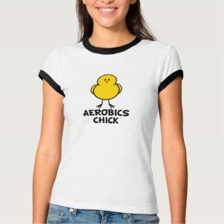 Camiseta Pintinho da ginástica aeróbica