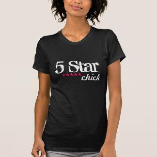 Camiseta pintinho de cinco estrelas