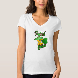 Camiseta Pintinho irlandês no verde