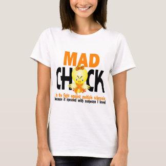 Camiseta Pintinho louco na esclerose múltipla da luta