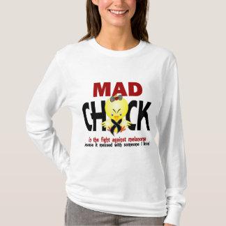 Camiseta Pintinho louco na melanoma da luta