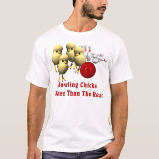 Camiseta Pintinhos da boliche