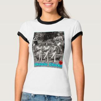Camiseta Pintinhos do Ukulele