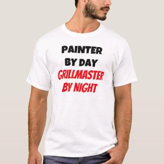 Camiseta Pintor em o dia Grillmaster em a noite