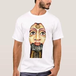Camiseta Pintura bonita da deusa egípcia