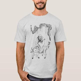 Camiseta Pintura chinesa de dinastia de Tzu Ming do Lao