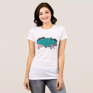 Camiseta pintura da cidade
