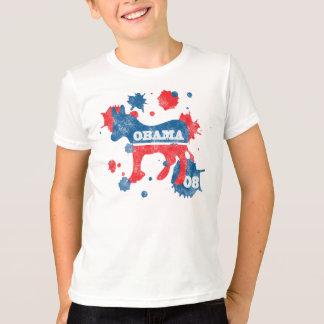 Camiseta Pintura de Obama