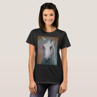 Camiseta Pintura de óleo eqüino