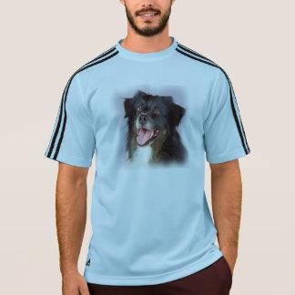 Camiseta Pintura do cão - arte do cão - pet a arte