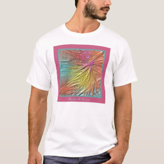 Camiseta Pintura do computador por Marrilyn Hansen
