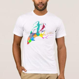 Camiseta Pintura do golfinho