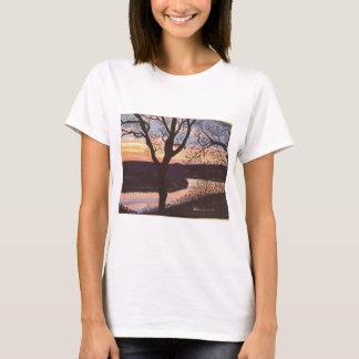 Camiseta Pintura do por do sol de Arkansas River
