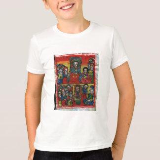 Camiseta Pintura etíope da igreja - t-shirt para crianças