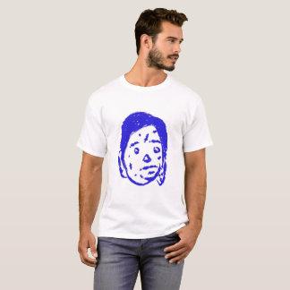 Camiseta Pintura handmade do design dos desenhos animados
