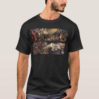 Camiseta Pintura mural do terramoto/camisa futuras da
