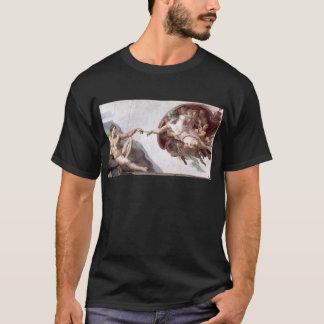 Camiseta Pintura original de Michelangelo na capela Roma do