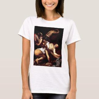 "Camiseta Pintura original ""La crocifissione di s Pietro """