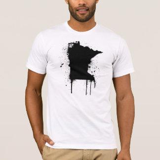 Camiseta Pintura pistola do manganês