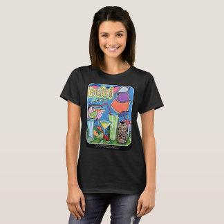 Camiseta Pintura tropical da sala de estar da modificação