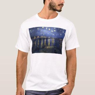 Camiseta Pinturas de Van Gogh: Noite estrelado Van Gogh