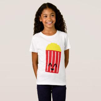 Camiseta pipoca