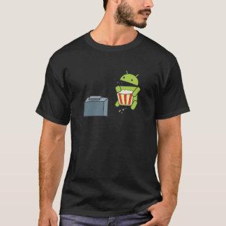 Camiseta Pipoca do Android
