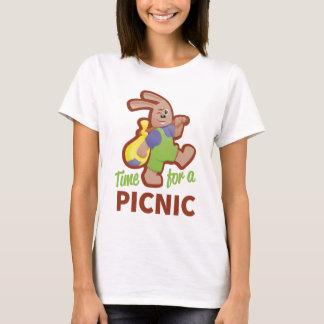 Camiseta Piquenique-tempo