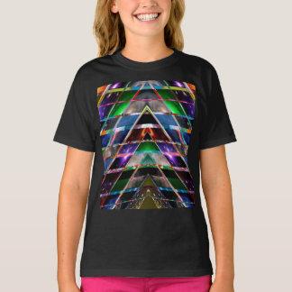 Camiseta PIRÂMIDE - aprecie o espectro de energia cura