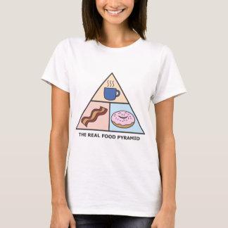 Camiseta Pirâmide de comida revisada