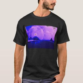 Camiseta Pirâmide iluminada