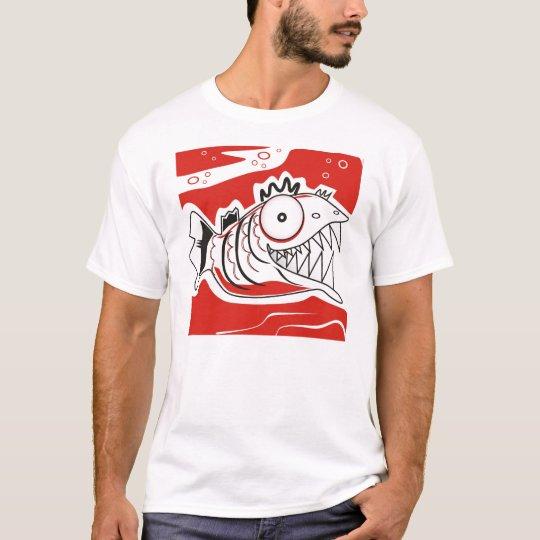Camiseta piranha