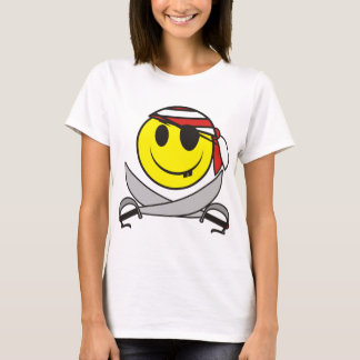 Camiseta Pirata 01 do smiley